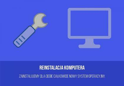 Reinstalacja komputera